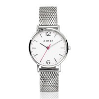 Lady horloge zilverkleurig