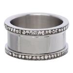 10 mm Zilver met Zirconia