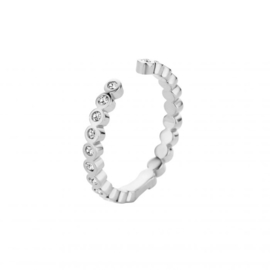 Melano twisted tina cz ring