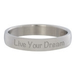 Live Your Dream Zilver