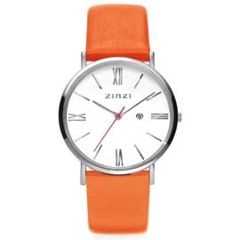 Roman horloge zilverkleurig