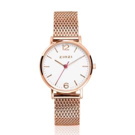 Lady horloge roségoudkleurig