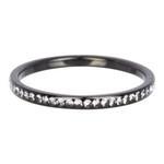 Zirconia ring Cristal Zwart