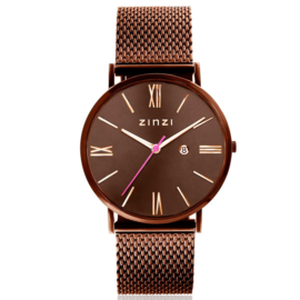 Rom horloge bruingekleurd