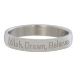 Wish, Dream, Believe Zilver