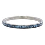Zirconia ring Light Saphire