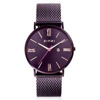 Roman horloge paarsgekleurd