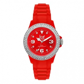 Ice Watch Ice-Stone Stone Sili Medium Red-Silver