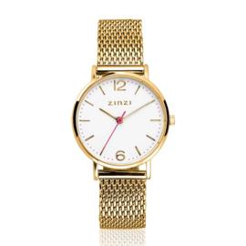 Lady horloge goudkleurig