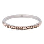 Zirconia ring Gold Quartz