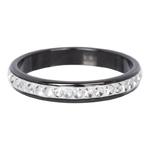Ring keramiek met zirconia 4 mm Zwart