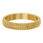 Ring Kaviaar 4mm Goud