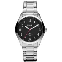 Zinzi horloge zilverkleurig