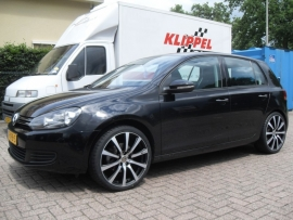 VW Golf VI met 19`` Brock B21 225 3519 Falken 453