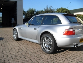 BMW Z3 Coupe BBS RKII