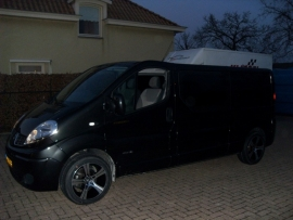 Renault Trafic 18`` Buran Black/Polish  235-50/18