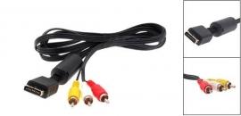 AV-Scart kabel voor Playstation 1 en 2
