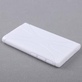 TPU Flex Bescherm-Cover Hoes Skin Hoesje voor iPod Nano 7 7G Wit
