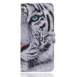 Luxe Boek Case - Bescherm-Etui  voor Samsung Galaxy S9 - Tiger