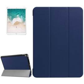 iPad Pro 10.5 - 2017 -  Bescherm-Cover Hoes Map met Smart Cover  - Blauw