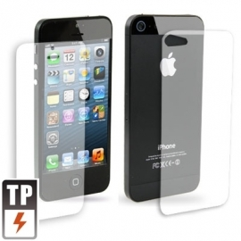 Front & Back Screenprotector Bescherm-Folie voor iPhone 5 - 5S