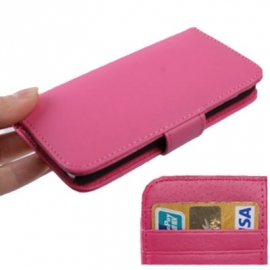 Luxe Boek Bescherm-Etui voor iPod Touch 5G 6G  Roze