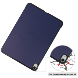 Slim Smart Cover Hoes Map voor iPad Air - 10.9 -  Blauw A2316
