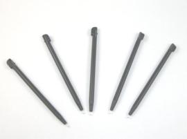 5x Stylus pen voor Nintendo DSi XL -  Grijs