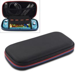 Luxe Aerocase Hoes Etui voor Nintendo Switch Lite   Zwart