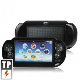 Aluminium Beschermhoes cover voor Playstation - PS Vita Zwart