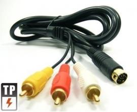 Stereo AV-Scart Kabel voor Sega Megadrive 2