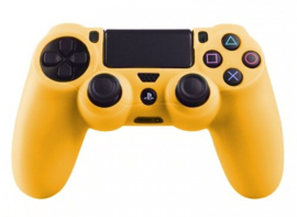 Silicone Hoes / Skin voor Playstation 4 PS4 Controller   Oranje