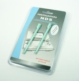 2x Stylus pen voor Nintendo DS  Groen