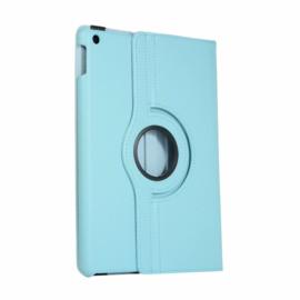 360º Standaard Hoes Map voor iPad 10.2 - iPad Air  10.5  - Lichtblauw -  A2197  A2152
