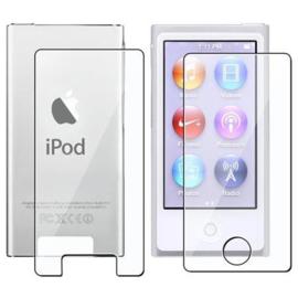 Voor - Achter SET Screenprotector Bescherm-Folie voor iPod Nano 7