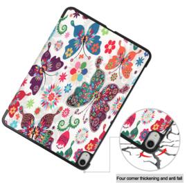 Slim Smart Cover Hoes Map voor iPad Air - 10.9 -  Vlinders