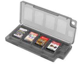 Spel Opberg-Box voor 8 Nintendo Switch + 2 SD Cards    Zwart