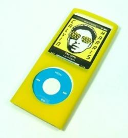 Silicone Bescherm-Hoes Skin voor  iPod Nano 4G 4   Geel