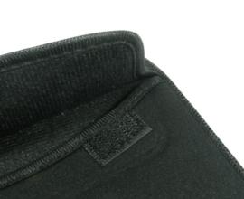 Bescherm-Opberg Hoes Etui Pouch voor iPad - iPad Air   Zwart