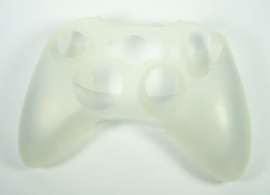 Silicone Hoes / Skin voor XBOX 360 Controller  WIt