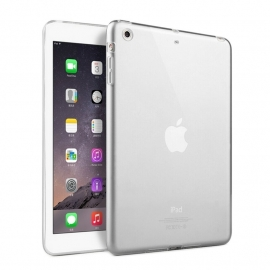TPU Flex Bescherm-Hoes Skin voor iPad Mini 4    Transparant
