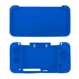 Silicone Bescherm Hoes voor Nintendo 2DS XL Blauw