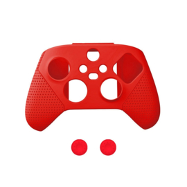 Dobe Silicone Hoes / Skin voor XBOX Series X -  S Controller   Rood