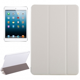 Bescherm-Cover Etui met Smart Cover voor iPad Mini 4   Wit *
