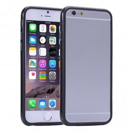 Luxe Silicone Bescherm-Bumper voor iPhone 6 - 6S Plus  Met ingebouwde knoppen
