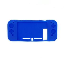 Silicone Bescherm Hoes Skin  voor Nintendo Switch - Blauw
