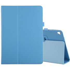 PU Kunstleer-Etui Hoes Map voor iPad 10.2  -  iPad Air 3 - 10.5   - Lichtblauw   A2197 - A2152