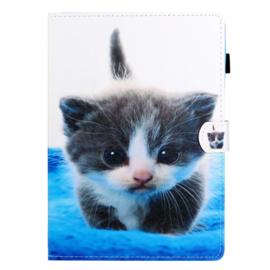 Cute Cat  - Bescherm-Etui Map voor iPad 10.2 - iPad Air 10.5