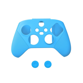 Dobe Silicone Hoes / Skin voor XBOX Series X -  S Controller   Blauw