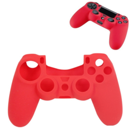 Silicone Hoes / Skin voor Playstation 5 - PS5 Controller   Rood